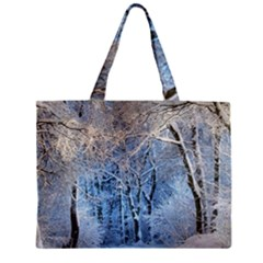 Another Winter Wonderland 1 Zipper Tiny Tote Bags