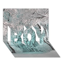 Another Winter Wonderland 2 BOY 3D Greeting Card (7x5)
