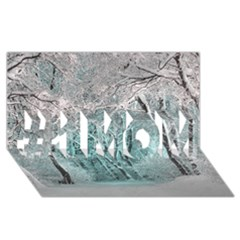 Another Winter Wonderland 2 #1 Mom 3d Greeting Cards (8x4)