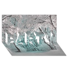 Another Winter Wonderland 2 PARTY 3D Greeting Card (8x4)