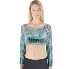 Another Winter Wonderland 2 Long Sleeve Crop Top
