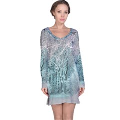 Another Winter Wonderland 2 Long Sleeve Nightdresses