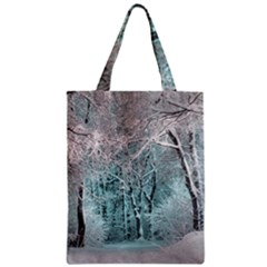 Another Winter Wonderland 2 Zipper Classic Tote Bags