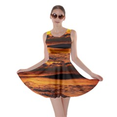 Stunning Sunset On The Beach 2 Skater Dresses