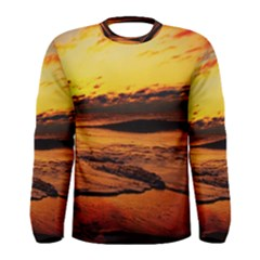 Stunning Sunset On The Beach 2 Men s Long Sleeve T-shirts