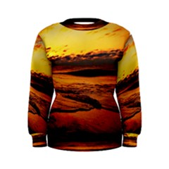 Stunning Sunset On The Beach 2 Women s Sweatshirts