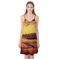 Stunning Sunset On The Beach 2 Camis Nightgown