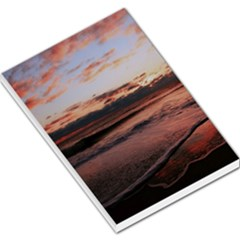 Stunning Sunset On The Beach 3 Large Memo Pads