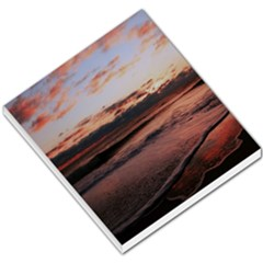 Stunning Sunset On The Beach 3 Small Memo Pads