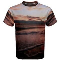 Stunning Sunset On The Beach 3 Men s Cotton Tees