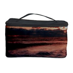 Stunning Sunset On The Beach 3 Cosmetic Storage Cases