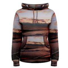 Stunning Sunset On The Beach 3 Women s Pullover Hoodies