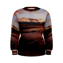 Stunning Sunset On The Beach 3 Women s Sweatshirts