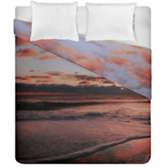 Stunning Sunset On The Beach 3 Duvet Cover (double Size)