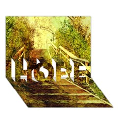 Up Stairs Hope 3d Greeting Card (7x5)