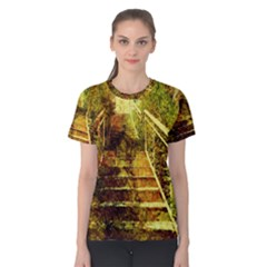 Up Stairs Women s Cotton Tees