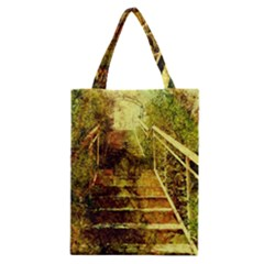 Up Stairs Classic Tote Bags