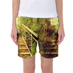 Up Stairs Women s Basketball Shorts