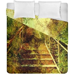 Up Stairs Duvet Cover (double Size)