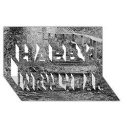 Another Way Happy New Year 3D Greeting Card (8x4)