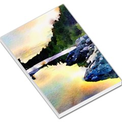 Stunning Nature Evening Large Memo Pads