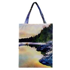 Stunning Nature Evening Classic Tote Bags