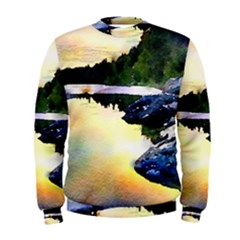 Stunning Nature Evening Men s Sweatshirts