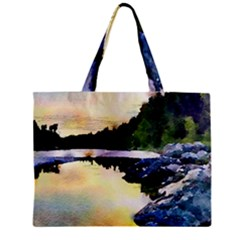 Stunning Nature Evening Zipper Tiny Tote Bags