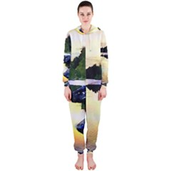 Stunning Nature Evening Hooded Jumpsuit (Ladies)