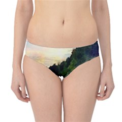 Stunning Nature Evening Hipster Bikini Bottoms