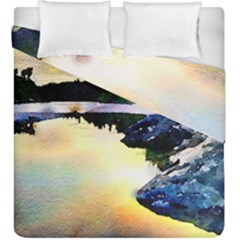 Stunning Nature Evening Duvet Cover (king Size)