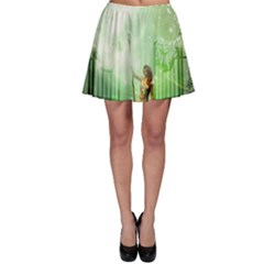 The Gate In The Magical World Skater Skirts