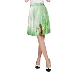 The Gate In The Magical World A-Line Skirts
