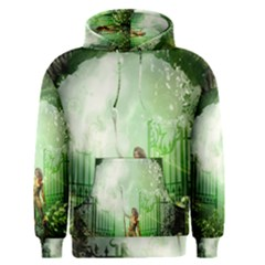 The Gate In The Magical World Men s Pullover Hoodies