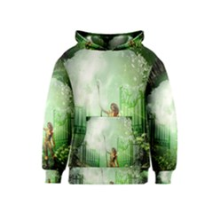 The Gate In The Magical World Kid s Pullover Hoodies