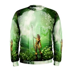 The Gate In The Magical World Men s Sweatshirts