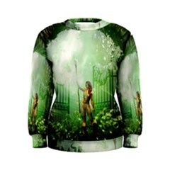 The Gate In The Magical World Women s Sweatshirts