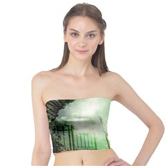 The Gate In The Magical World Women s Tube Tops