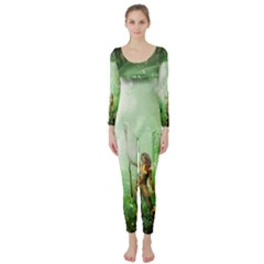 The Gate In The Magical World Long Sleeve Catsuit