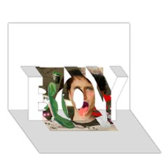 1443925651325 Boy 3d Greeting Card (7x5)