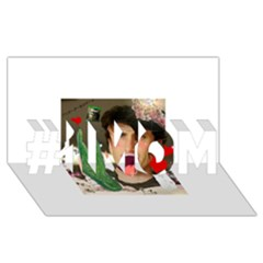 1443925651325 #1 Mom 3d Greeting Cards (8x4)