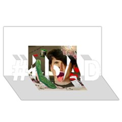 1443925651325 #1 Dad 3d Greeting Card (8x4)