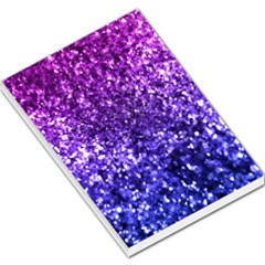 Midnight Glitter Large Memo Pads