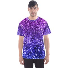 Midnight Glitter Men s Sport Mesh Tees