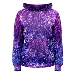 Midnight Glitter Women s Pullover Hoodies
