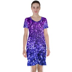 Midnight Glitter Short Sleeve Nightdresses