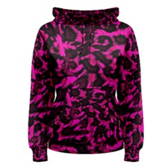Extreme Pink Cheetah Abstract  Women s Pullover Hoodies