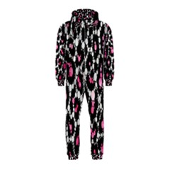 Pink Cheetah Bling  Hooded Jumpsuit (Kids)
