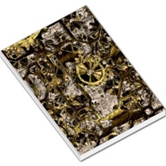 Metal Steampunk  Large Memo Pads