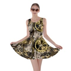 Metal Steampunk  Skater Dresses
